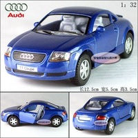 New AUDI TT Coupe 1:32 Alloy Diecast Car Model Toy Collection Blue B102c