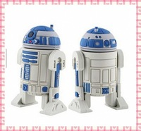wholesale Free Shipping 10pcs/lot  STAR WAR R2-D2 robot plastic genuine 4GB/8GB/16GB/32GB usb drive pen drive usb flash drive