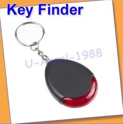 Register free shipping!! 30pcs/lot Sound sonic Voice Control Key Finder Locator Chain Keychain(China (Mainland))