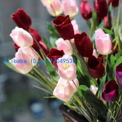 1 шелк букетов тюльпана PCS красивейший искусственний цветет домашние цветы...