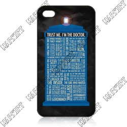 For iphone 5 iphone 4 4s ILC1960 80% OFF FOR BULK Free Shipping Cover Case Skin Doctor Who(China (Mainland))