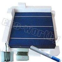 20PCS-6x6 4.1w solar cell -DIYsolar panel+200' tabbing wire + 15' bus wire +flux pen -total 80W-high efficiency ,free shipping&#