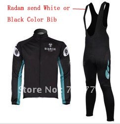 2010 Best Selling Winter Fleece/Thermal Cycling Jerseys+Bib Pant Set/Cycle Wear/Bikling Clothing/Bicycle Gear(China (Mainland))