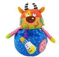 красочные детские деревянные погремушки - ударные музыкальные игрушки, деревянные игрушки, шум чайник, Рождественский подарок, zwz090