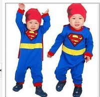 Free shipping 0 - 2 baby best super clothing man Baby  costume baby set baby clothes sets