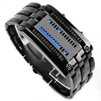 Male electronic watch waterproof watch fashion table fashion table