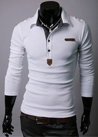 high quality Summer Casual T-shirt fashion long sleeves brands sports t shirts for men promotion/advertising
