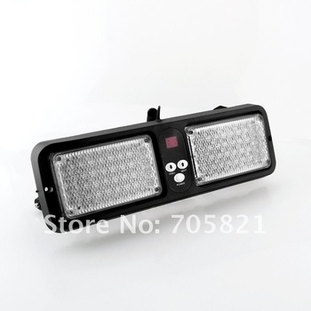 86 LED Visor emergency vehicle warning light strobe construction police fire