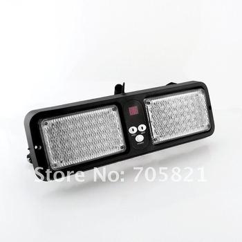 86 LED Visor emergency vehicle warning light strobe construction police fire