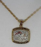 1997 Denver Broncos Super World Bowl ChampionShip pendant, rare Top quality, super elegant FREE SHIPPING, customize