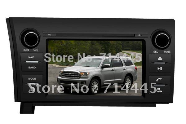 Intelligent 2007-2012 TOYOTA TUNDRA /SEQUOIA 7 Inch Touchscreen GPS DVD Player Navigation System(China (Mainland))