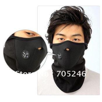 Neoprene Snowboard Ski Cycling Face Mask Neck Warmer Bike Bicyle ski mask 3colors  3pcs/lot