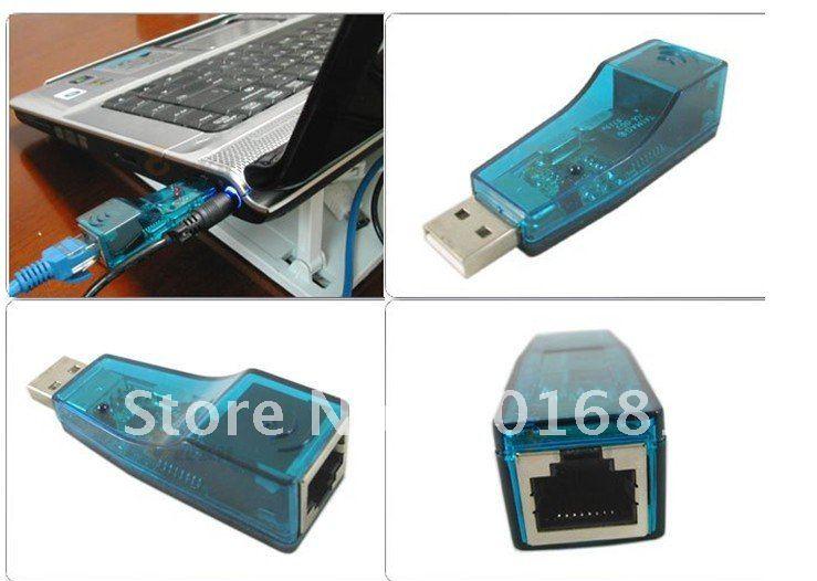 Free Shipping+USB Ethernet LAN Card 10/100 Mbps Fast Ethernet Adapter, Network Adapter, USB Lan Card(China (Mainland))
