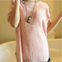 [WSWG]Free Shipping Fashion Women Brand Sweaters Loose Size, 4 Colours Long Sleeve Pullovers Lady,3116