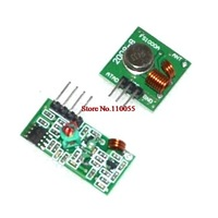 Free shiping !!& Best prices 2 pair (4pcs)433Mhz RF transmitter and receiver link kit for Arduino/ARM/MCU WL