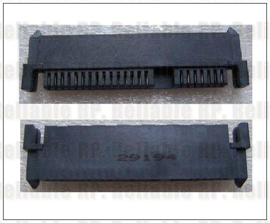 1x New SATA Hard Drive Connector HDD Interface Socket for HP COMPAQ DV2000 V3000(China (Mainland))