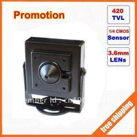 Video Color CMOS 420TVLine hidden cctv camera free shipping