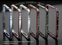 50PC/Lots DHL Free Blade CNC metal Aluminum bumper case For iphone 5 5G, TOP Quality Fashion Design