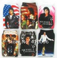 Free shipping Wholesale New Cartoon Michael Jackson 30pcs phone sock soft case