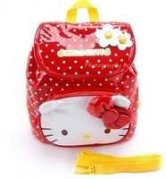 Hello kitty school bag child school bag children backpack anti-lost bag
