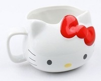 Hello kitty cat head cup Large