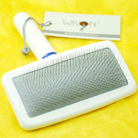 Wison pet comb Small gill saidsgroupsdirector stainless steel soft gill open end comb supplies