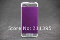 Hot Selling!10pcs per lot Many Beautiful Color Aluminium Case for iPhone 5,Phone accessories for iphone 5