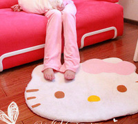 Hot Selling hello kitty carpet mats HELLO KITTY bedroom carpet 0.25KG Free Shipping