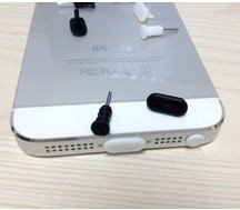 Dock Cover for iPhone 5 5G dust plug 100pcs earphone jack plug+ 100pcs charger socket=total 200pcs free shipping