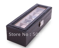 Delicate jewel case jewel boxs gift box christmas gift birthday gift BLACK free shipping 180