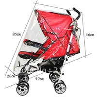 Free shipping New arrival luxury trolley rain cover baby car windproof hood rain cover car umbrella rain cover