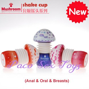 Free Shipping! Mushroom Shake Cup, Masturbatory Cup, Sex Toys, Sex Toys for man, Masturbators, New and High Quality