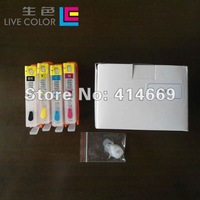 4 empty ink cartridge ARC chip for HP364 364 XL Photosmart D5400 D7500 B109 B110 C5300 C6300 C510 B209 B210 C309 C310 C410 8550