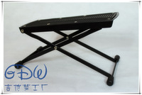 free shipping Pedal adjustable metal stool classical guitar footraces 6 adjust folding