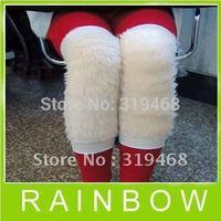 100pcs/lot 50pairs RA Wool Villus Warm Anti Arthritis Felt Flok Pad Protective Kneelet Kneecap Free Shipping