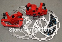 New Red Color RADIUS T2.0 line disc / mechanical disc brakes / bicycle brake / mountain bicycle Brake accessories For Free