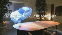 Free shipping 6sqm self adhesive holographic film transparent grey dark grey white each 1.5square meter