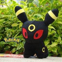 "Pokemon Plush Toy Umbreon 5"" Cute Eevee Series Stuffed Animal Doll Kid Gift"