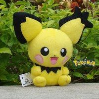 "Pokemon Pichu Plush Toy Cute Nintendo Game Adorable Stuffed Animal Doll 6"""