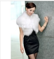 Free shipping 2012 women's faux vest formal short design women's vest shrug cape