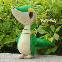 "Pokemon Plush Toy Snivy 6"" Cute Stuffed Animal Doll Toy"