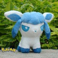 "Glaceon 5"" Nintendo Pokemon Plush Toy  Cute Stuffed Animal Doll Kid Gift"