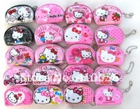 Hot sale! Wholesale - 24 Pcs hello kitty coin purse mix order women's coin purse women's wallet children's purses