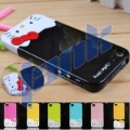 High quality Fashion lovely  2in1 Combo Hello kitty Hard Case For iPhone 5 5G Free shipping  #01