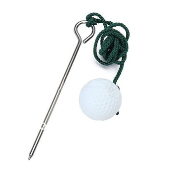 Free Shipping Golf Driving Ball Swing Hit Practice Training Aid