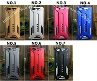 50PC/Lots DHL Free Stongest Protection Arachnophobia Durable Aluminium Case For iphone 5 5G, TOP Quality Fashion Design