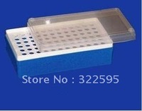free shipping 0.5ml centrifugal tube rack 72vents 5pcs/pack