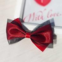 A M@rt Wig! 10 red bow hair pin hairpin hair accessory hair accessory accessories -xqw1