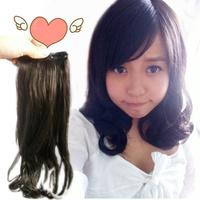 A M@rt Wig! Wig pear roll hair extension piece wig piece short pear flower repair -xqw1