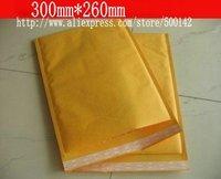 Free shipping 100pcs High quality kraft paper bubble envelope bag 300x260mm gift bag F26
